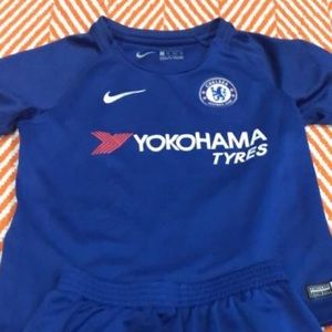 Chelsea football soccer jersey Uniform set XS